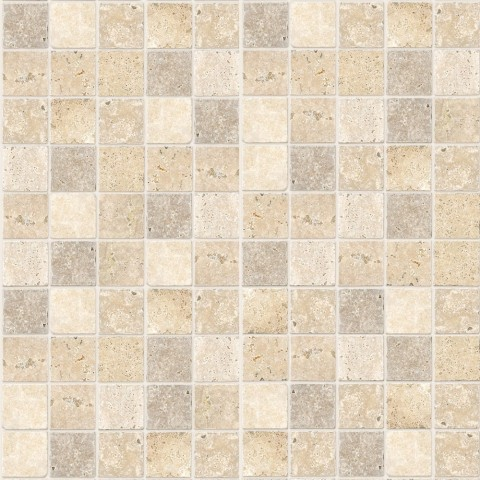 MARBREX TRAVERTINE MOSAIC WALL PANEL 350MMX2.6MX5MM PK6