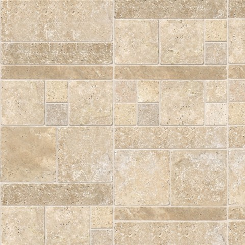 MARBREX TRAVERTINE CLASSIC WALL PANEL 350MMX2.6MX5MM PK6