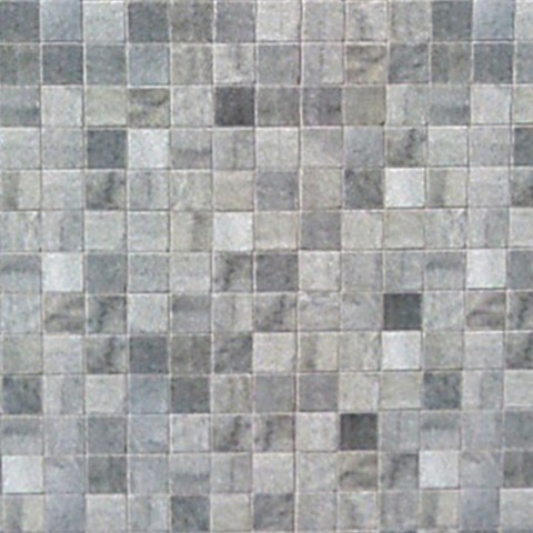 MARBREX GREY MOSAIC WALL PANEL 350MM X 2.6M X 5MM PK6