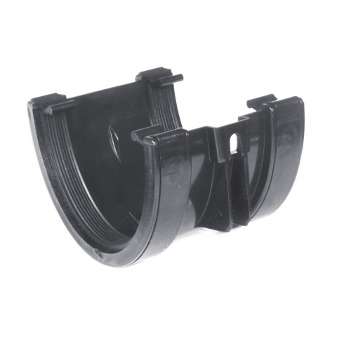 114mm Deepflow Gutter Union Bracket Dark Grey RAL 7016