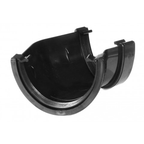 114mm Deepflow Gutter 135° Angle Black