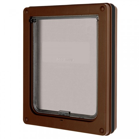 Medium Dog Door (Panel Fitting) Brown