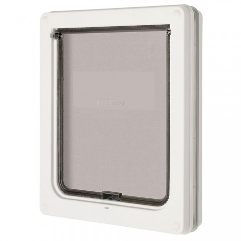 Medium Dog Door (Panel Fitting) White