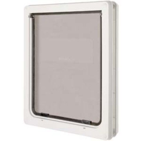 Large Dog Door (Panel Fitting) White