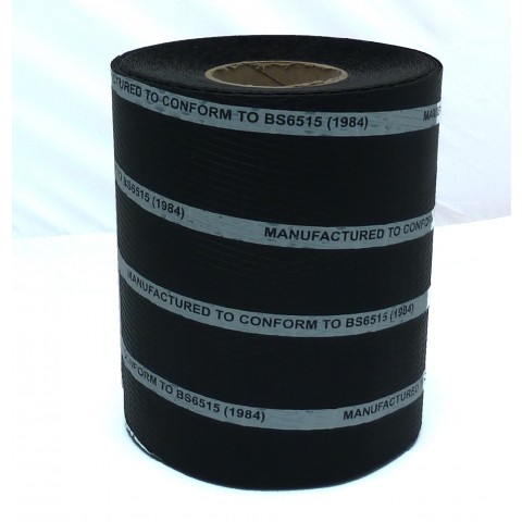225mm x 30m Damp Proof Course (DPC) Black
