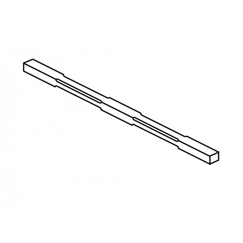 Bracing bar for use with Ball Finials