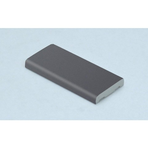 25mm D Mould Smooth Slate Grey RAL 7015