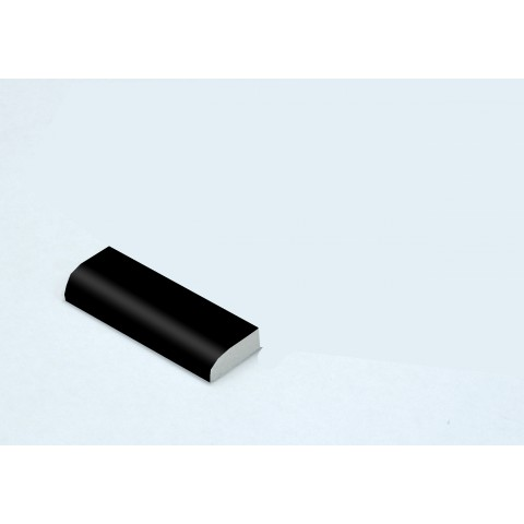 20mm x 6mm Edge Fillet Matt Black