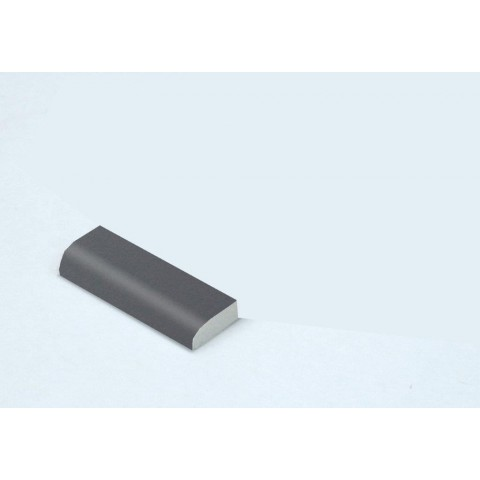 20mm Edge Fillet Smooth Slate Grey RAL 7015