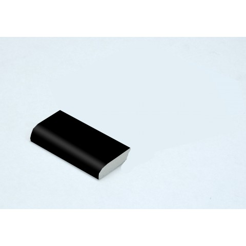 28mm x 6mm Edge Fillet Matt Black