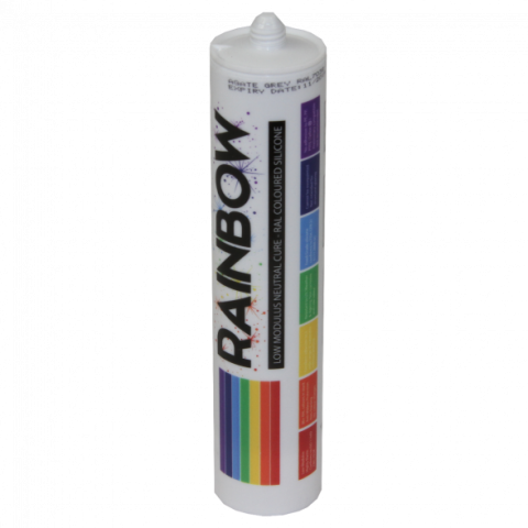 Professional Low Mod Neutral Silicone RAL9006 Silver (Alu White)