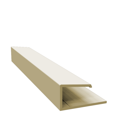 Fortex Universal Edge Trim Pale Gold 3m
