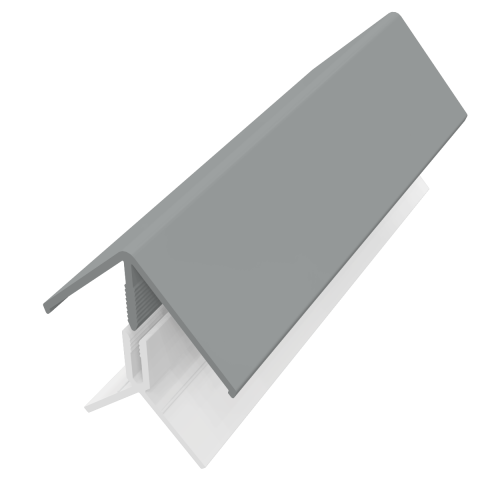 Fortex 2 Part External Corner Trim - Storm Grey 3m