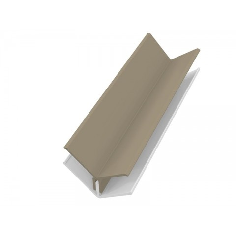 Fortex 2 Part Internal Corner Trim - Argyl Brown 3m
