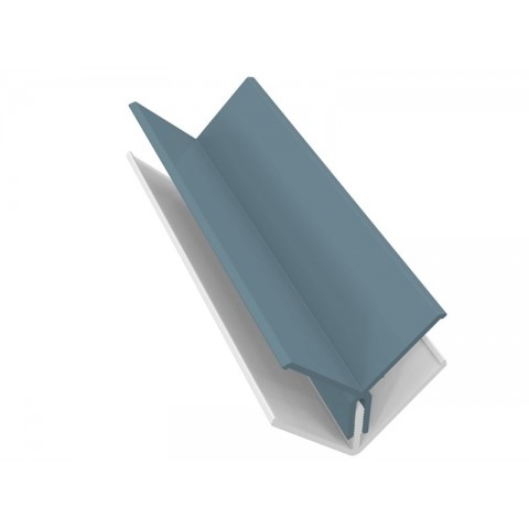 Fortex 2 Part Internal Corner Trim - Colonial Blue 3m