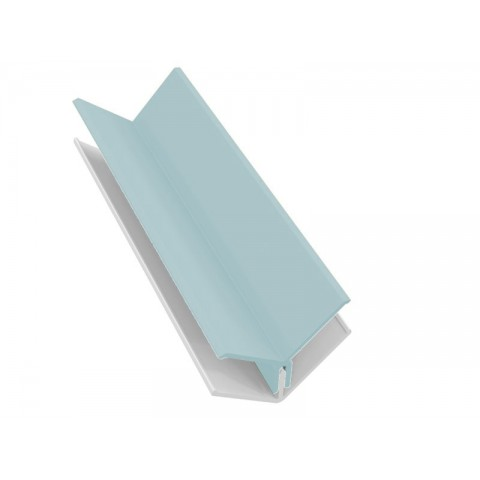Fortex 2 Part Internal Corner Trim - Pale Blue 3m