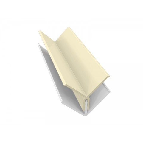 Fortex 2 Part Internal Corner Trim - Pale Gold (Cream) 3m