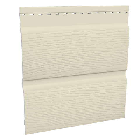 Fortex 300mm Double Shiplap Cladding - Pale Gold 5m