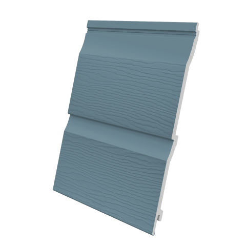 Fortex 333mm Double Shiplap Cladding Colonial Blue 5m