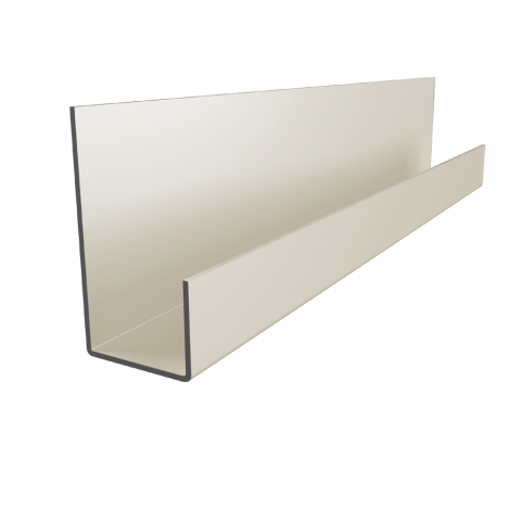 End Profile for Fibre Cement Cladding 3m (Oyster White)