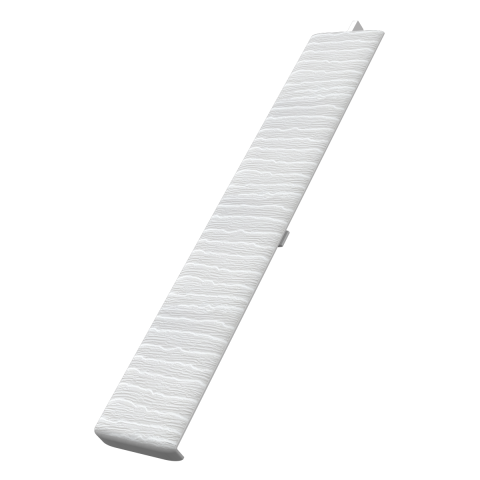 Fortex Weatherboard Butt Joint - White