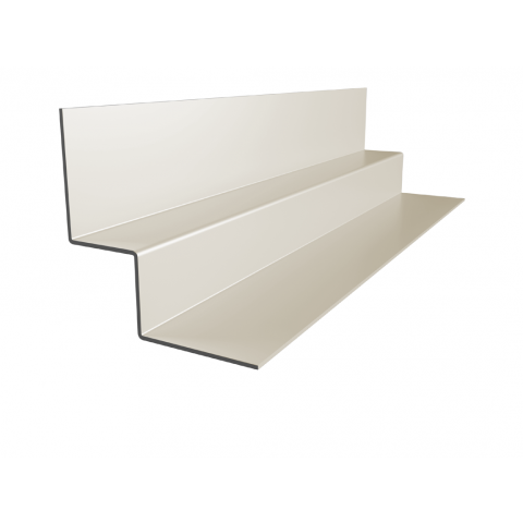 Internal Corner for Fibre Cement Cladding 3m (Oyster White)
