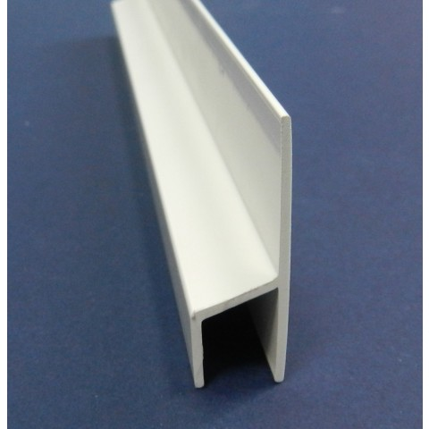 Felt Roof Edge Trim 5m White