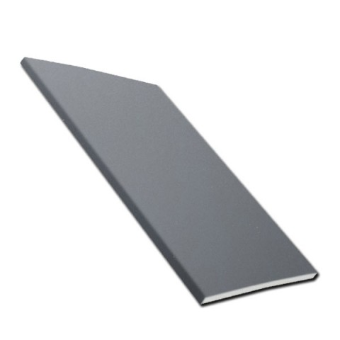 9mm Flat Soffit / General Purpose Board Smooth Slate Grey RAL7015