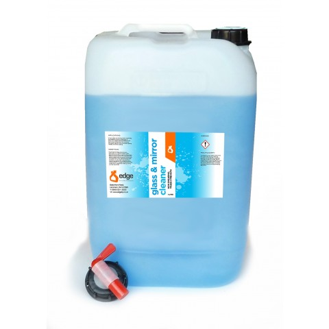 Glass Cleaner 25 litre inc Tap