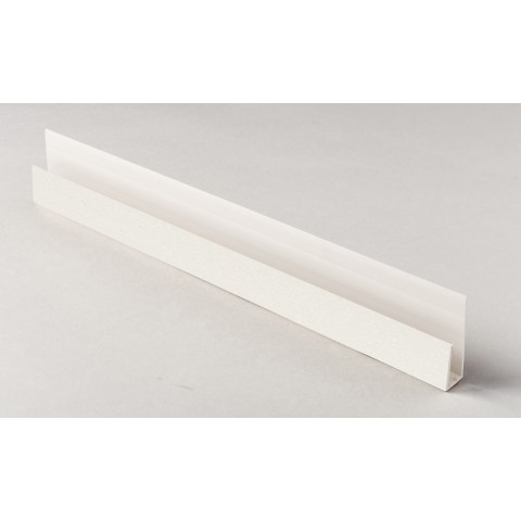 Edge Channel/Soffit Board J-Trim 5m Cream