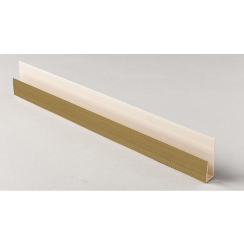 Edge Channel/Soffit Board J-Trim 5m Irish Oak