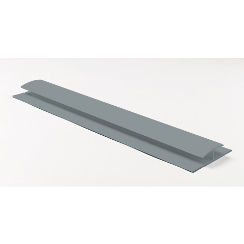 Soffit Board H Joint 5m Gloss Light Grey