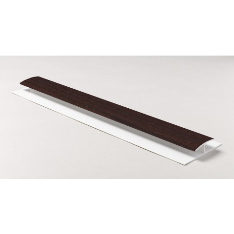 Soffit Board H Joint 1m (Rosewood)