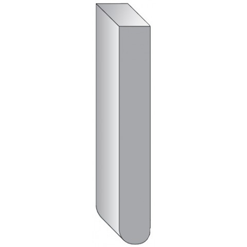 25mm Bullnose Ungrooved Replacement Fascia White DO NOT ENABLE AS REQUESTED BY TI