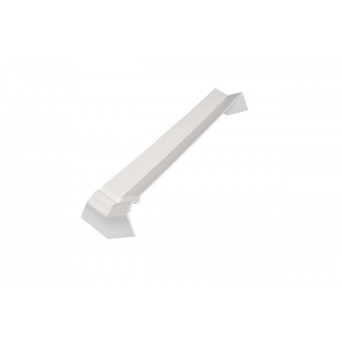 Internal 135 Degree Square/Ogee Corner White