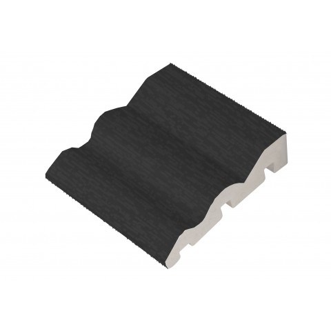 70 x 18mm Ogee Skirting 5.3m Grained Dark Grey 7016