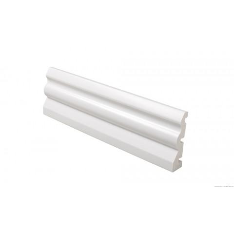 70 x 18mm Ogee Skirting White