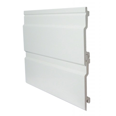 150mm Open V Cladding White