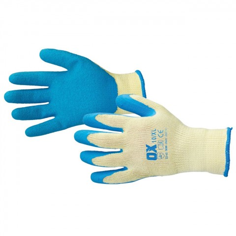 PRO LATEX GRIP GLOVES - SIZE 9 (L)