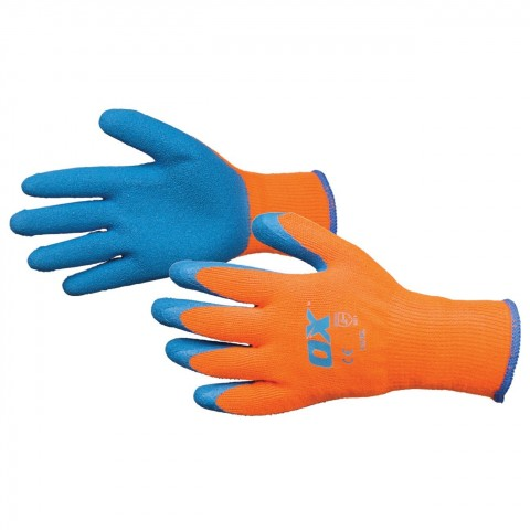 THERMAL GRIP GLOVES-SIZE 9 (L)