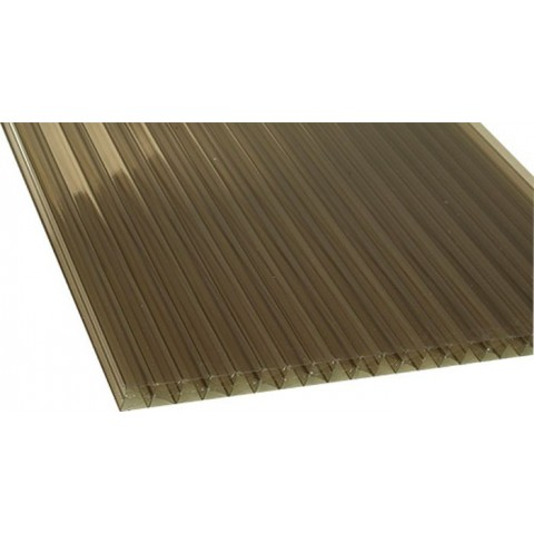 25mm Polycarbonate Bronze