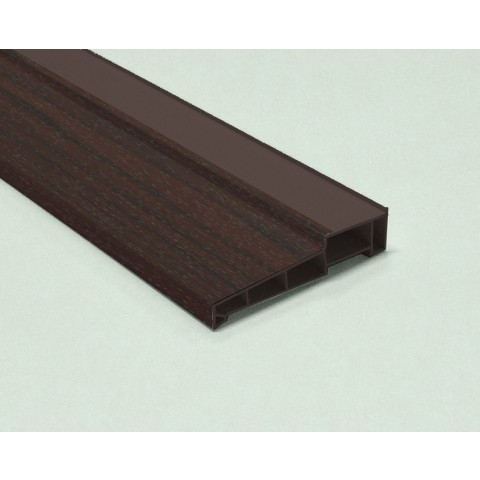 Woodgrain Cill 155mm x 5m Rosewood on Rosewood