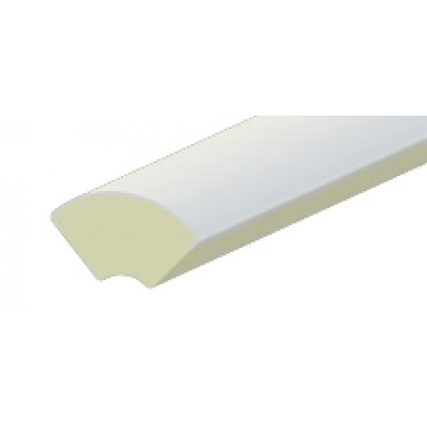 13.5mm Quadrant Liniar White