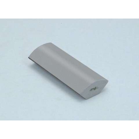 18mm Quadrant Grained Light (Silver) Grey RAL 7001