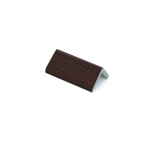 25 x 25 x 4mm x 5m Rigid Angle Trim Rosewood