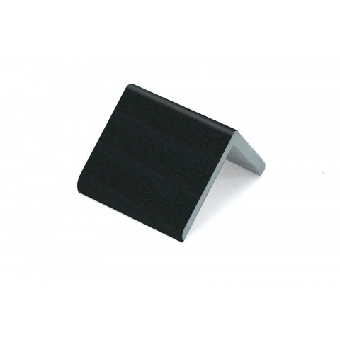 50 x 50 x 5mm x 5m Rigid Angle Trim Black Ash