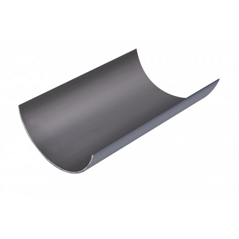Dark Grey 4M Gutter 112mm Round
