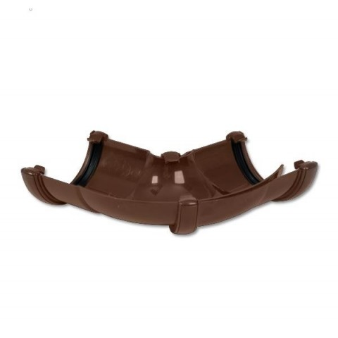 Brown Adjustable Gutter Angle Round 50 - 156
