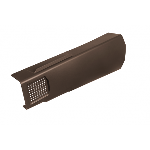 Verge Master Dry Verge Unit Right Hand Brown