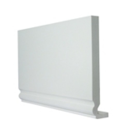 Double Edged 400 x 16mm x 5m Ogee Replacement Fascia White